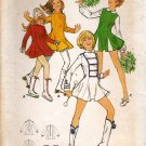 Butterick 5940 Pattern uncut Girls 7/8 bust 29 Micro Mini Dress Godets Cheerleader Skating Costume