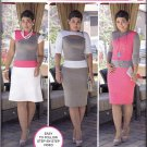 Simplicity 1276 Pattern uncut 16 18 20 22 24 Color Block Dress Designer Mimi G
