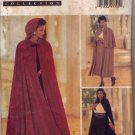 Butterick 3084 Pattern uncut 6 8 10 Flared Lined Cape Collar or Hood Straight Skirt