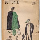 Butterick 4695 Vintage Costume Pattern unused breast 38 Unprinted 1940s? Devil Penguin Monkey Cat