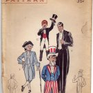 Butterick 6550 Pattern Complete Tuxedo Tails Breeches Trousers Costume Boys breast 24 (5T) Hats
