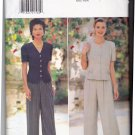 Butterick 4004 Pattern uncut 6 8 10 Wide Leg Pants Princess Seam Tops Designer Donna Ricco