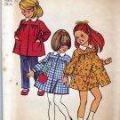 Simplicity 5164 Pattern Uncut Girls 2 Short Smock Dress Pants Shorts Vintage 1970s