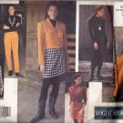 Vogue Sport 2966 Pattern uncut 6 8 10 Jacket Dress Top Skirt with Fringe Hem Pants