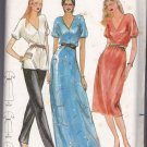 Butterick 3352 Pattern uncut med 12 14 V-neck Dress Tunic Pants