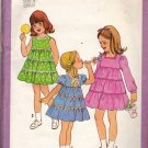 Simplicity 8429 size 5 Girls Ruffled Dress, may be missing pieces, 50 cents plus shipping