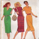 Butterick 3040 Pattern uncut medium 12 14 Pullover Dress for Knit Fabrics