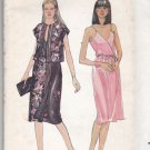 Butterick 3640 Pattern uncut 10 Fitted Shoulder Strap Wrap Dress Jacket