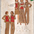 Butterick 6795 Pattern uncut 12 Jacket Pants Skirt Top Blouse 1960s