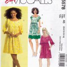 McCall's M5578 Pattern uncut 6 8 10 12 14 Loose Fit Dress Kimono Sleeves Huge Pockets
