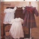 Simplicity 7644 Pattern uncut Girls 5 6 6X Dress Smocking Collar Ruffles Oliver Goodin Heirloom