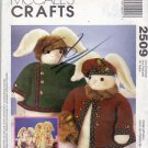 McCall's 2509 Sewing Pattern uncut Bunnies with Jackets and Hats Joanne Beretta