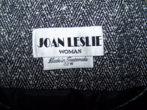 Womens 22W 24W Joan Leslie Plus Size Career Suit 22 24