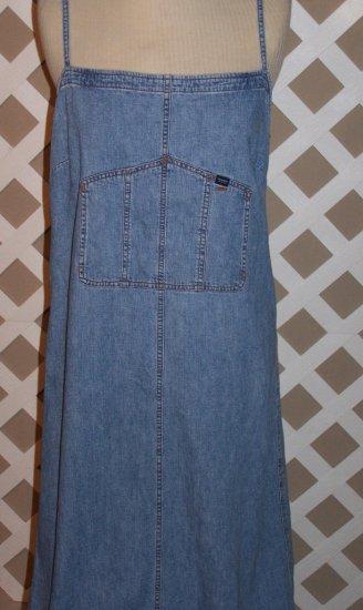 Womens Denim Ralph Lauren Summer Dress Size L