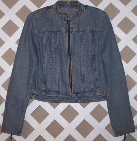 Womens Gap Denim Jacket Size M Old School Style
