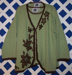 Storybook Knits Autumn Serenity 2 Piece Sweater Size 3X