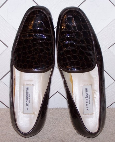 Women�s Brown Liz Claiborne 7.5 Shoes Made in Italy Size 7 ½