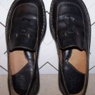 Women's Born Black Leather Shoes Size 7 Like New