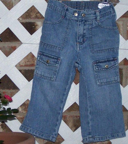 Girls Old Navy Denim Jeans 18-24 Months BTS Cute!
