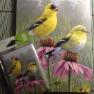 Gold Finch Echinacea Gift Set Tree Free Eco Journal Diary & Magnet