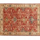 NEW Channing Rust POTTERY BARN  Persian Hand Tufted 8X10 Modern Design Wool Carpet Rug