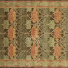 POTTERY BARN NEW Persian Cecil Green Hand Tufted 9X12 Wool Carpet Rug