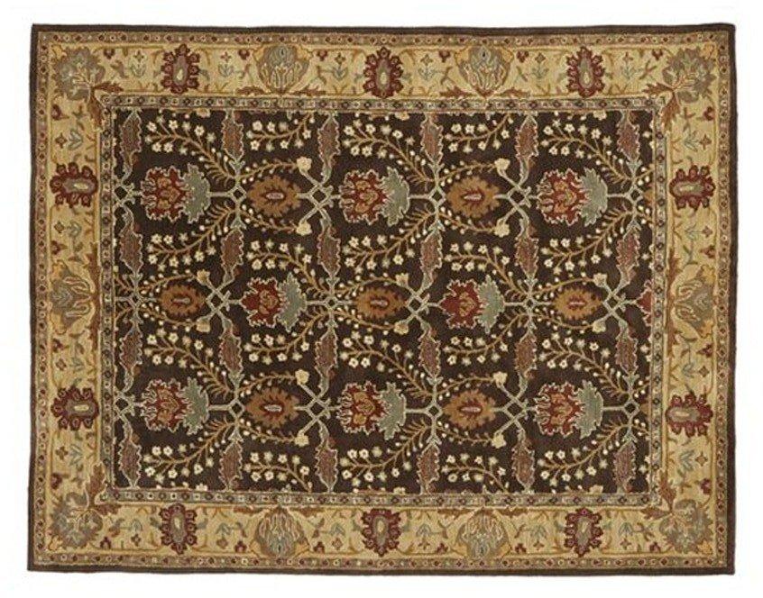 NEW POTTERY BARN  Brandon Persian Hand Tufted 8X10 Modern Design Wool Carpet Rug