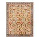 NEW POTTERY BARN Eva bage Persian Hand Tufted 9X12 Modern Design Wool Carpet Rug