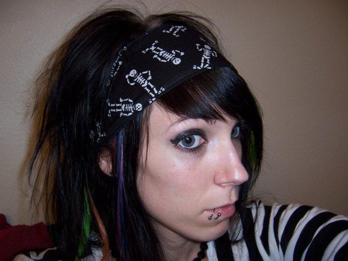 Skeleton Headband