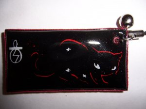 Emily The Strange Charm C for Cell Phone or Stylus