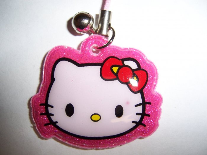 Hello Kitty Soft Pad Cell Phone Stylus Charm (Pink)