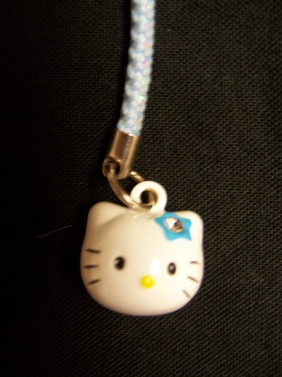 Hello Kitty Bell Cell Stylus Charm (Blue)