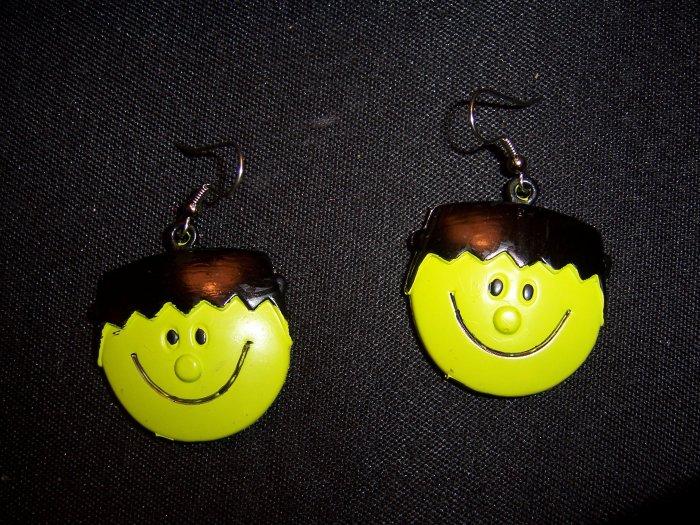Frankenstein Earrings