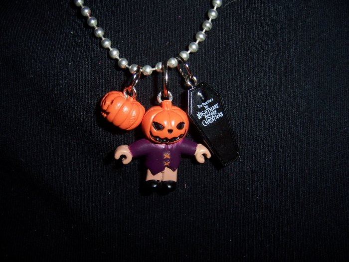 Jack the Pumpkin King Ball Chain Necklace