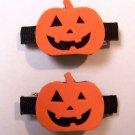 Pumpkin Barrettes