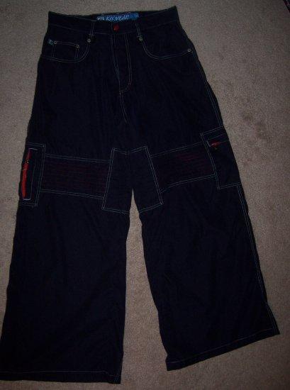 Navy Kik Wear Pants