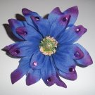 Purple Gem Shasta Daisy Flower Barrette