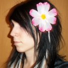 Pink Cosmos Barrette