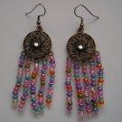 Pastel Circle Earrings