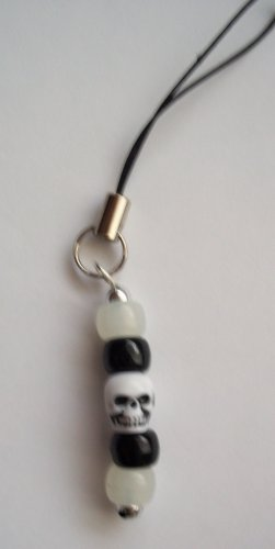 Skull Cell Phone Stylus Charm