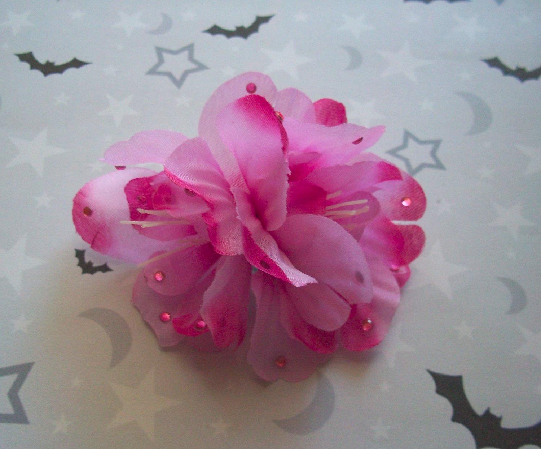 Pink Azalea Barrette