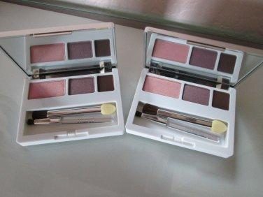 Clinique Color Surge Eyeshadow Trio - Strawberry Fudge/Beach Plum/Chocolate Chip