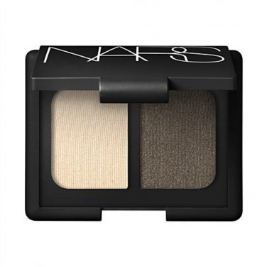 NARS Duo Eyeshadow - TAIGA (Pale gold frost/Gold infused pewter) 0.14 Oz/4g