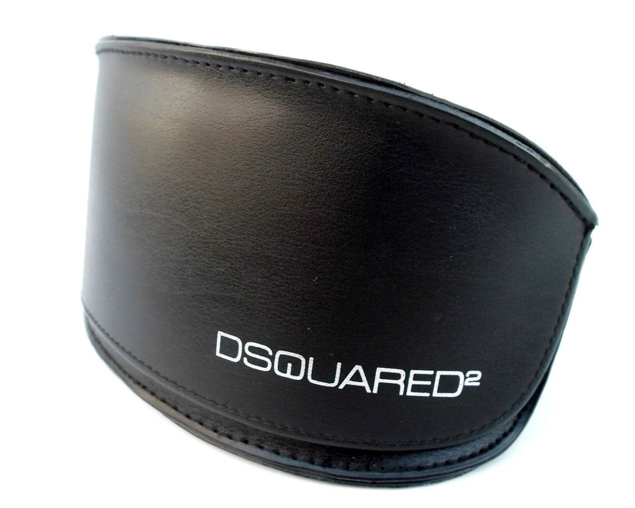 DSQUARED2 Black With Silver Lining UNISEX Sunglasses Case