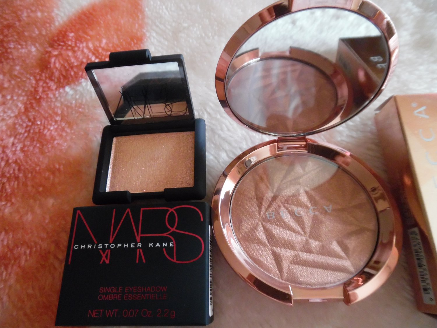 BECCA Blushed Copper Bronzer & NARS x Christopher Kane Outer Limits Eyeshadow Combo