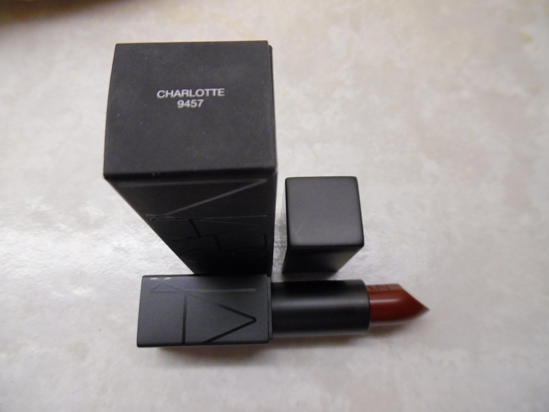 NARS Audacious Lipstick - Charlotte (Oxblood Burgundy)