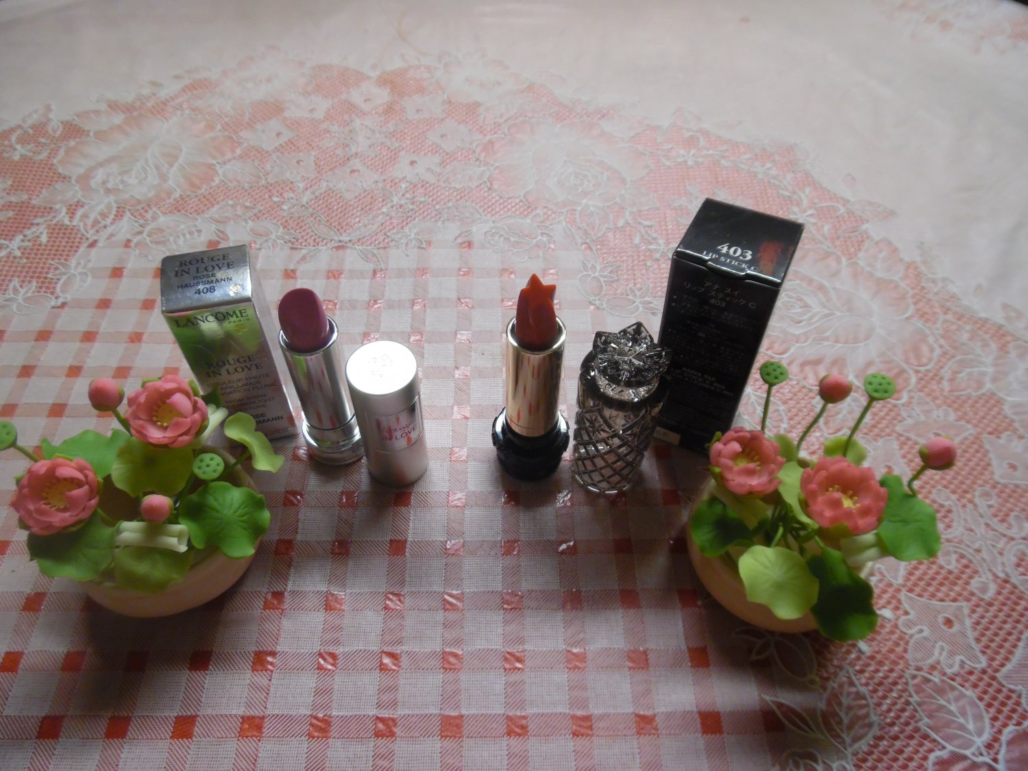 ANNA SUI & LANCOME (SOLD OUT) LIMITED EDITION  Lipstick Combo