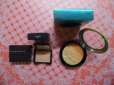 MAC Wash And Dry Freshen Up Highlighter & NARS LIMITED EDITION Outer Limits eyeshadow