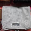HOLT'S White Perforated Multi-Purpose Cosmetic Organizer Bag