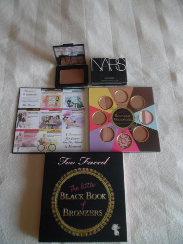 "NARS Laguna Bronzer & TOO FACED ""Little Book Of Bronzers"""